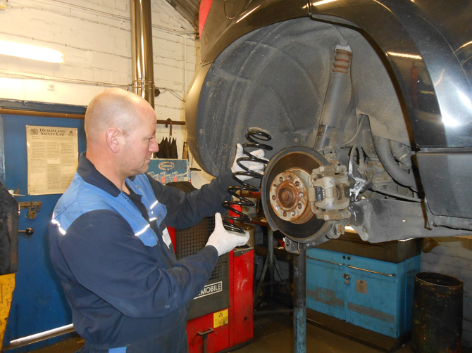 Skoda Car Steering and Suspension Replacement or Car Repairs at Golden Hill Garage (Redland) Bristol