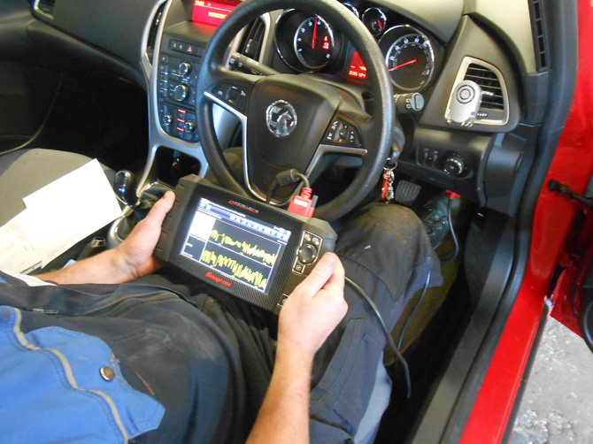 Vauxhall Car Engine Diagnostics at Golden Hill Garage (Redland) Bristol